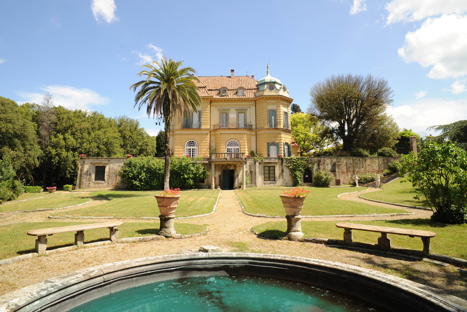Luxury villa in fiesole near florence toscana houses for Ville in italia